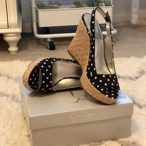 Jessica Simpson Wedges - 8M